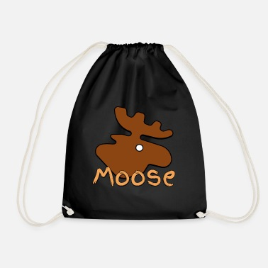 Moose Moose Moose - Drawstring Bag