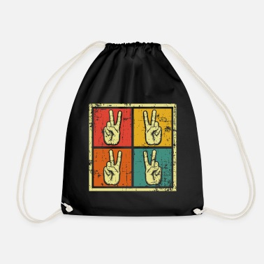 Peace Movement Peace Movement Peace - Drawstring Bag