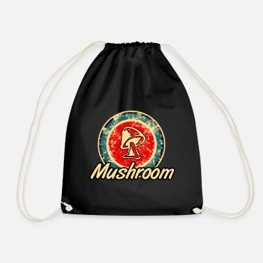 Magic Mushrooms Mushroom Mushrooms Magic Mushrooms - Drawstring Bag