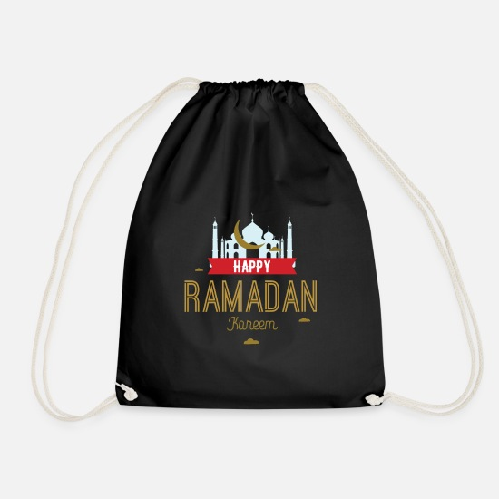 Ramadan Mubarak Gift Islam Turkey Drawstring Bag | Spreadshirt