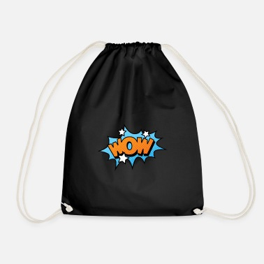 Strip Comic Comicstyle Comic Strip WOW - Mochila saco