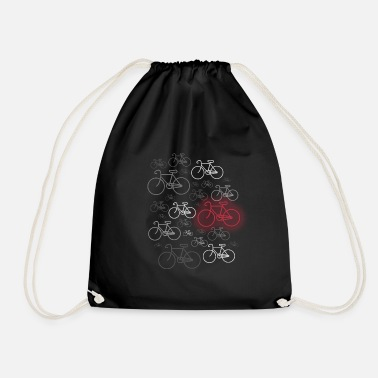 Road Bike Bike or road bike driver - Drawstring Bag