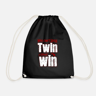Vater Twin Vater zwilling twin win - Turnbeutel