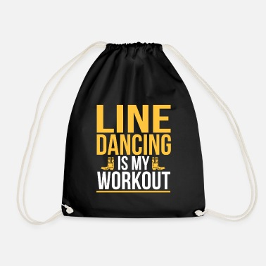 Country Line Dance Dancing Dancing Dance Country Gift - Gymtas