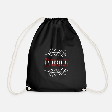 National Austria National Colors National Gift - Drawstring Bag