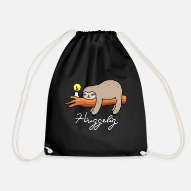 Hang Out Sleeping sloth (b) - Drawstring Bag