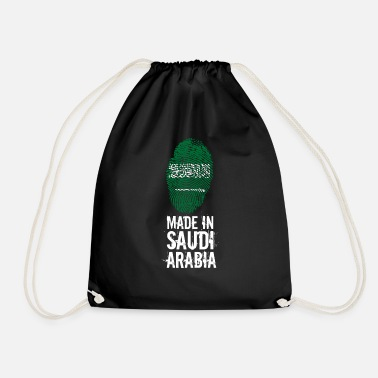 Saudi Arabia Made In Saudi Arabia / Saudi Arabia - Drawstring Bag