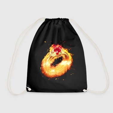 Burning ring ornament - Drawstring Bag