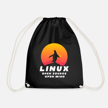 Open Linux - Open Source Open Mind - Sac à dos cordon