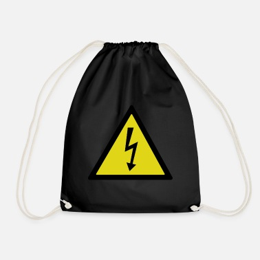 Electricity electrical - Drawstring Bag