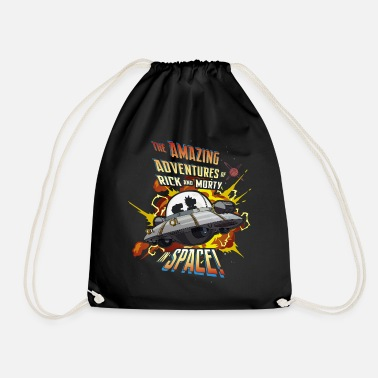 Rick and Morty Amazing Adventures in Space - Drawstring Bag
