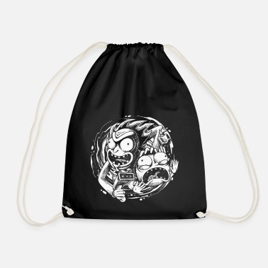Rick And Morty Time Warp Travels - Drawstring Bag