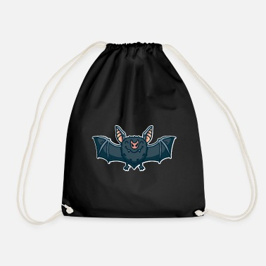 Pygmy Bat Bat vampire bat fluttering fruit bat - Drawstring Bag