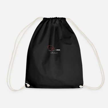 Down Calm Down For DarkCalm Down - Drawstring Bag