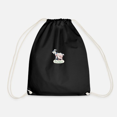 Herd Herd Hard - Drawstring Bag