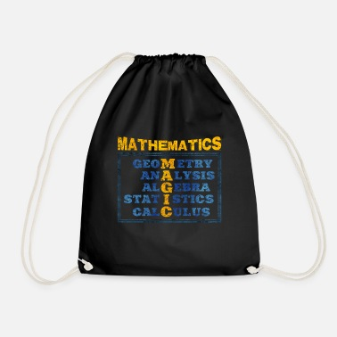 Mathematics mathematics - Drawstring Bag