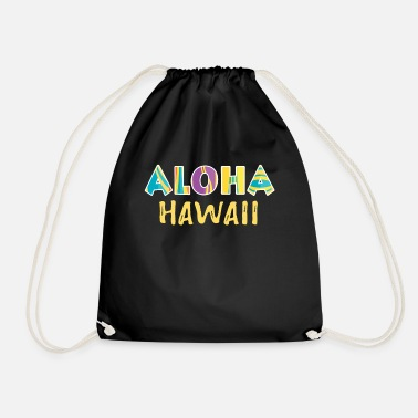 Hawaii Hawaii - Drawstring Bag