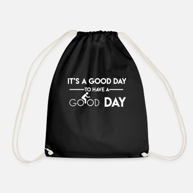 Bike Biking bike - Drawstring Bag