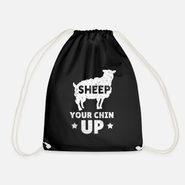 Geit Funny Sheep Animal Lamb Farm Lambs Farmer Farming - Gymtas