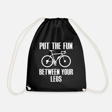 Ride Bike Bike-riding bike - Drawstring Bag