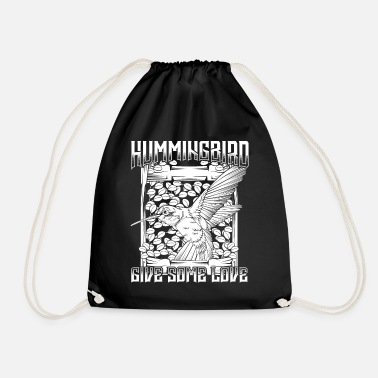 Hum humming-bird - Drawstring Bag