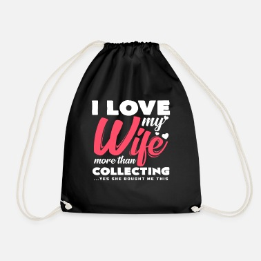 Collections Collecting - Drawstring Bag