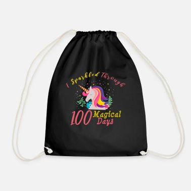 First Graders 100 Days of School for Kindergarten Elementary - Drawstring Bag