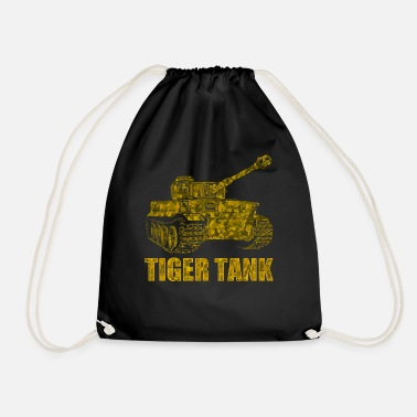 World German tank Tiger World War II - Drawstring Bag