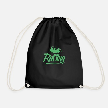 Rafting Whitewater River Raft Rafting Rafting Raft Raft - Drawstring Bag