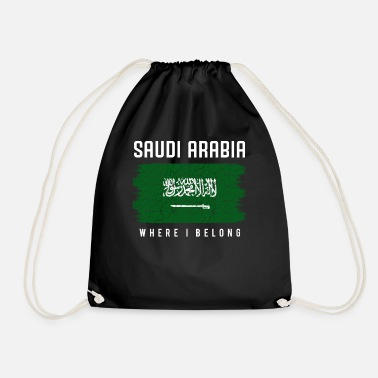 Saudi-arabische Nationalflagge Saudi-Arabien - Turnbeutel