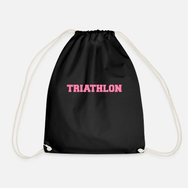 Triathlet Triathlete triathlete triathlete triathlete - Drawstring Bag