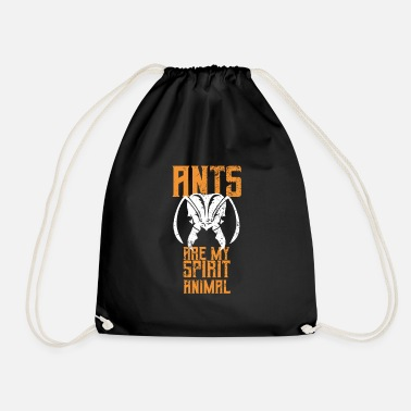 Tongue Ant ant hill queen gift - Drawstring Bag