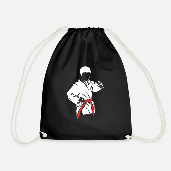 Martial Arts Bags & Backpacks - martial Arts - Drawstring Bag black