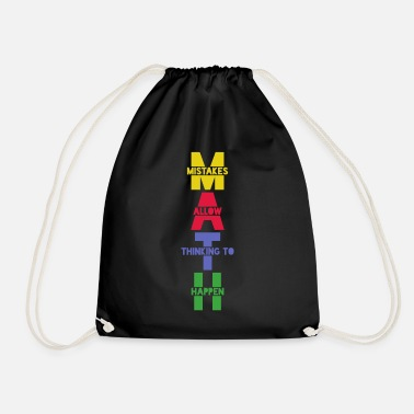Maths Math math math - Drawstring Bag