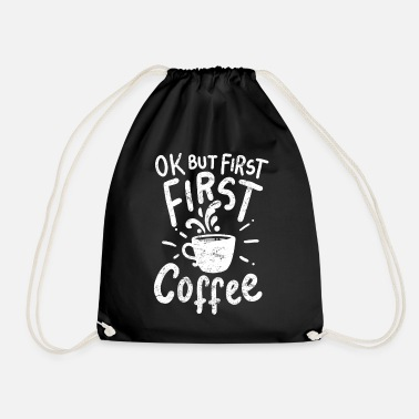 Coffee Coffee coffee coffee - Drawstring Bag