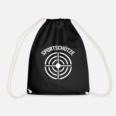 Shooting Club Sagittarius shooting club sport shooting - Drawstring Bag