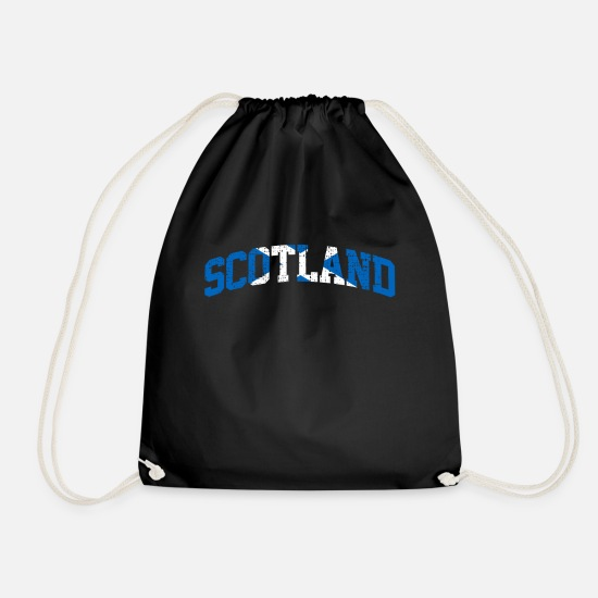 Scotland Bags & Backpacks - Scotland Scotland Scotland - Drawstring Bag black