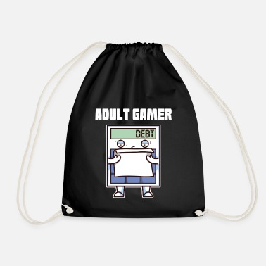 Adult Adult Gamer Adult Calculator - Drawstring Bag