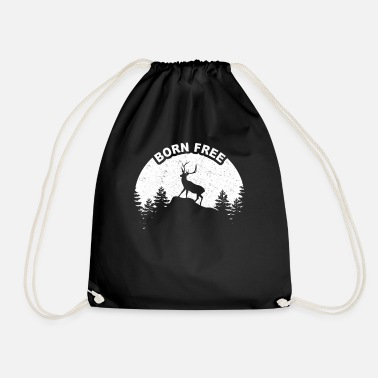 Wild Deer Deer in the wild - Drawstring Bag
