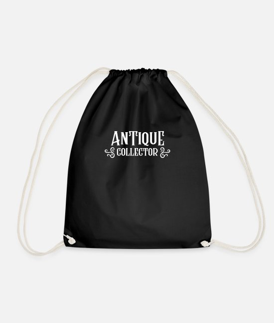 Trade Bags & Backpacks - Collection antiques collectors - Drawstring Bag black