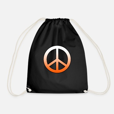 Peace Sign Peace sign peace sign - Drawstring Bag