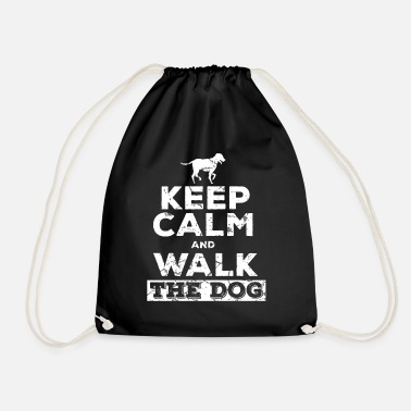 Dog Owner Dog owner dog owner - Drawstring Bag