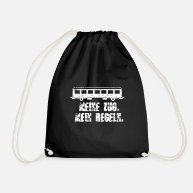 Regional Train Train Regional Express - Drawstring Bag