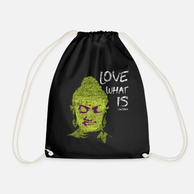 Existentialist Meaning Love What Is | Not What It Should Be - Gautama - Drawstring Bag