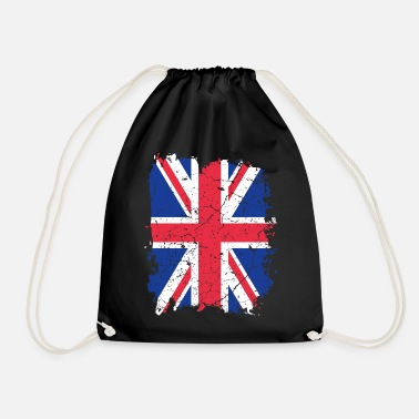 Uk UK UK flag - Drawstring Bag