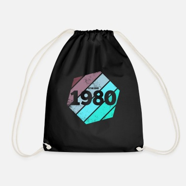 Established Established 1980 - Drawstring Bag
