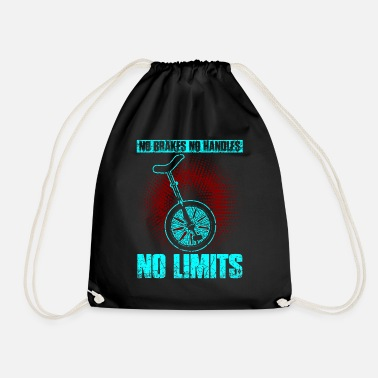 Sports Car Unicycle bicycle unicycle pedal vehicle sport - Drawstring Bag