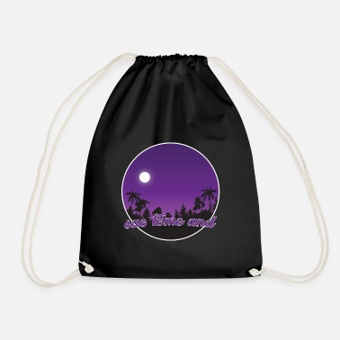 Sao Tome And Principe sao tome and principe purple paradise - Drawstring Bag