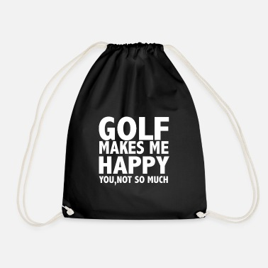 Freihzeit Golf Makes Me Happy - Drawstring Bag