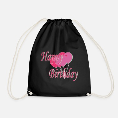 B Day B-day - Drawstring Bag